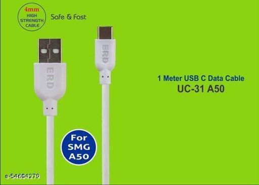 ERD UC-31 4mm High Speed USB-C Data Cable,1Meter (2.4 Amp)