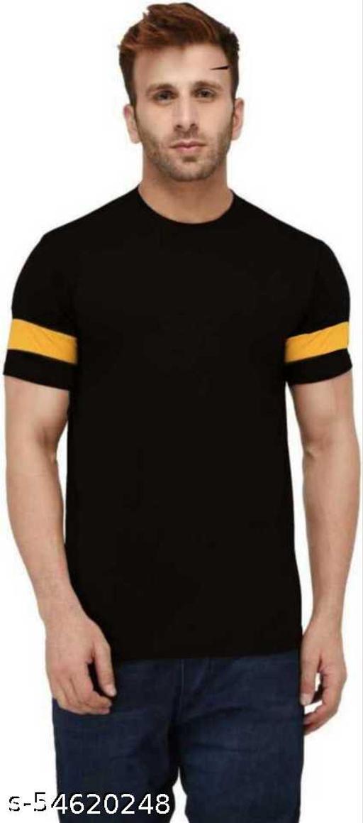 Larry & Eva Round Neck Striped T-Shirts