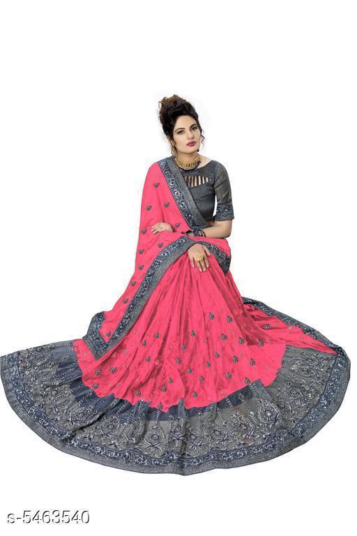 Samaira Attractive Satin Saree