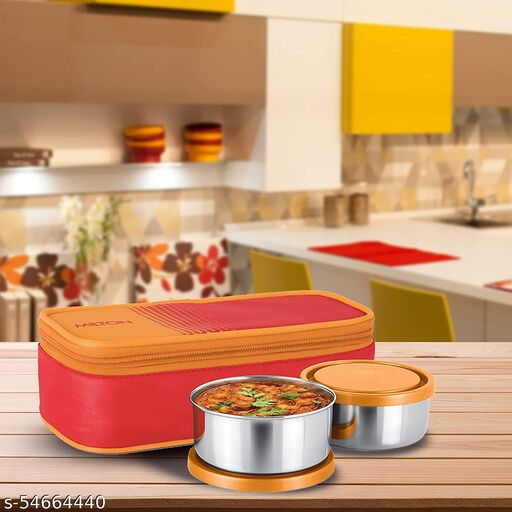 Steel Lunch Box (2 Containers