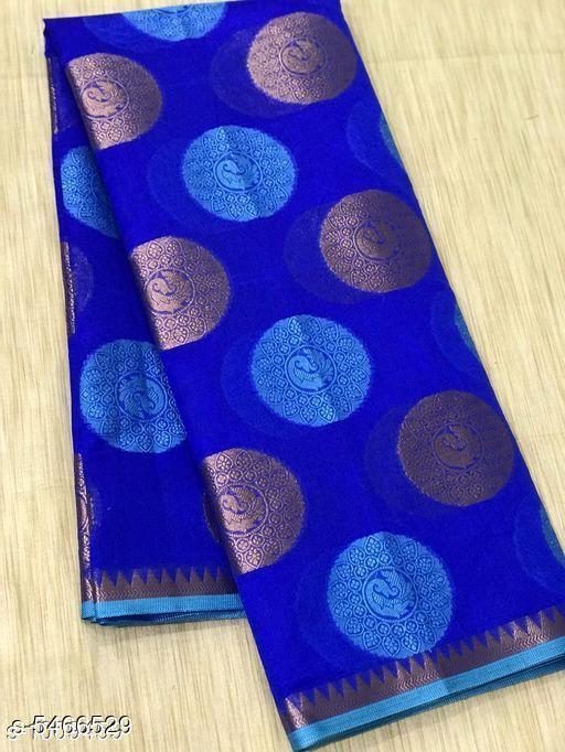 Kashvi Petite Banarasi Cotton Silk Sarees