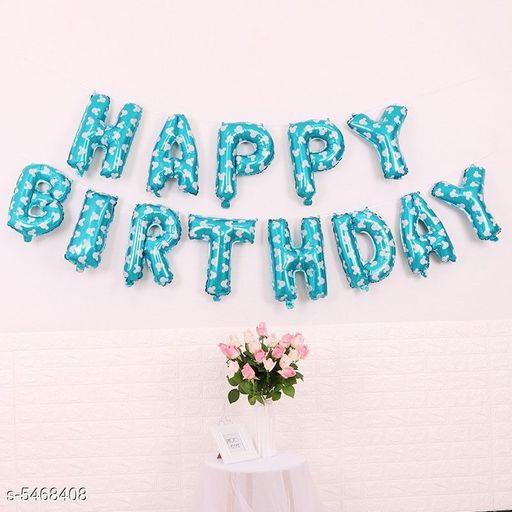 Essential Beautiful Happy Birthday Foil Balloon