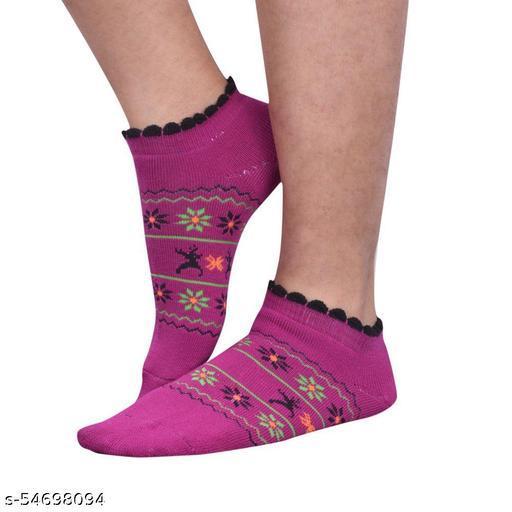 CLYMAA® WOMENS THUMB CUT VELVET SOCKS