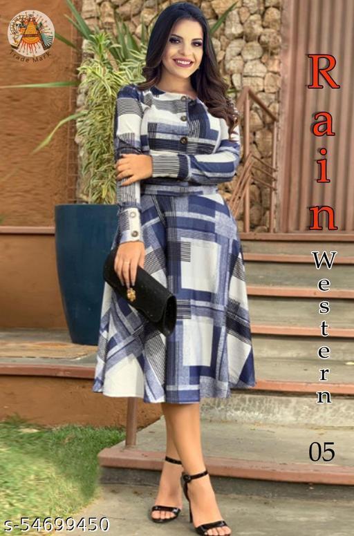 WOMEN FANCY ONE PIC DRESS
