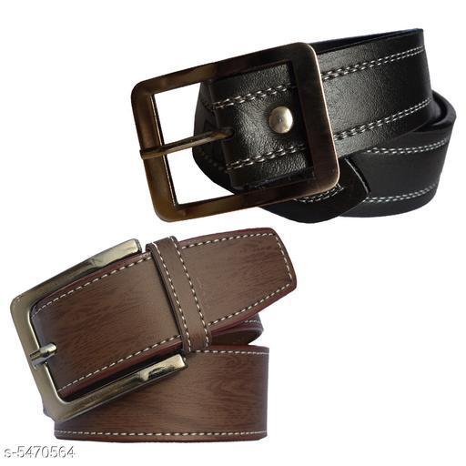 Men's Multicolor Casual Synthetic Belt