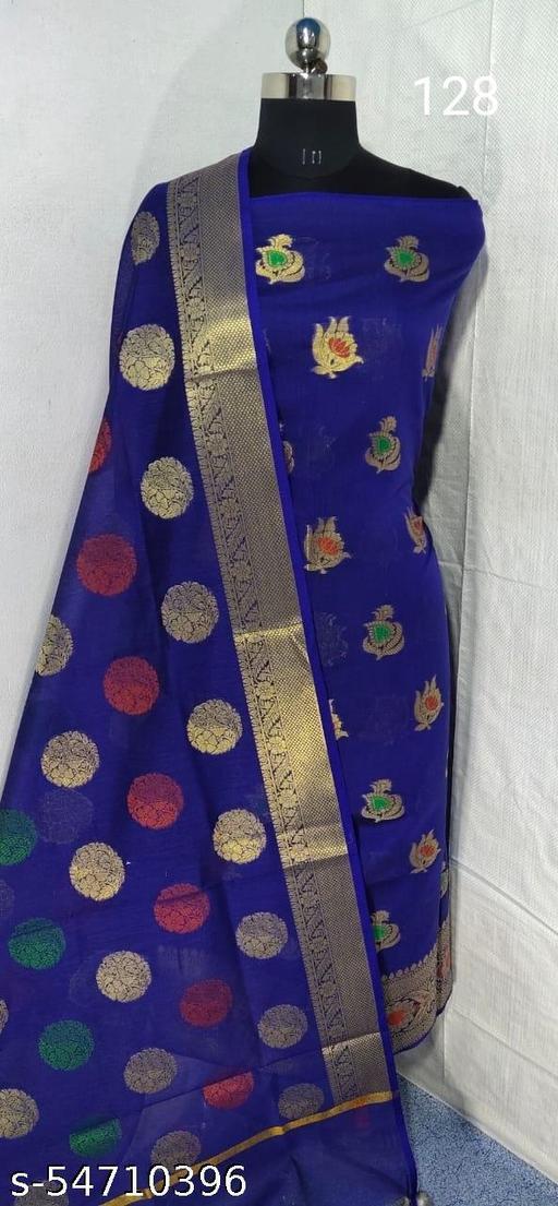 Banarasi Cotton Suit
