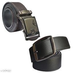 Trendy Men's Combo Multicolor Leather Belt