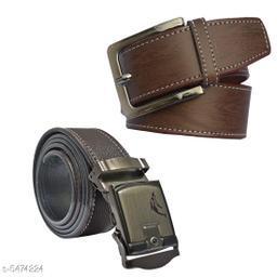Stylish Men's Brown Belt