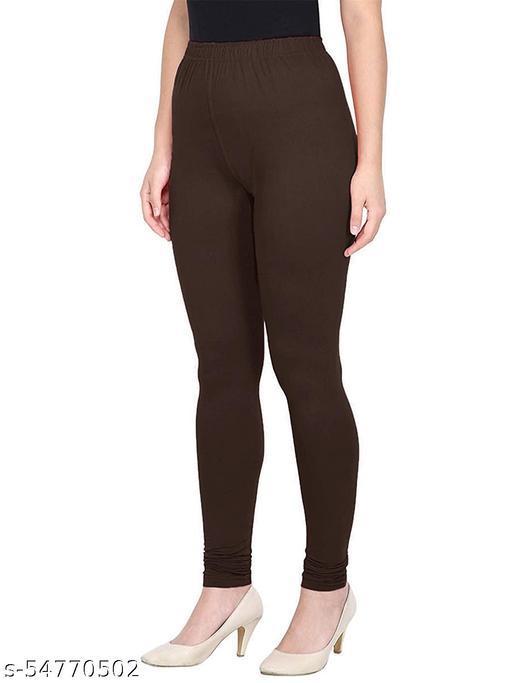 Slim Fit Churidar Stretchable Leggings for Women (free size)