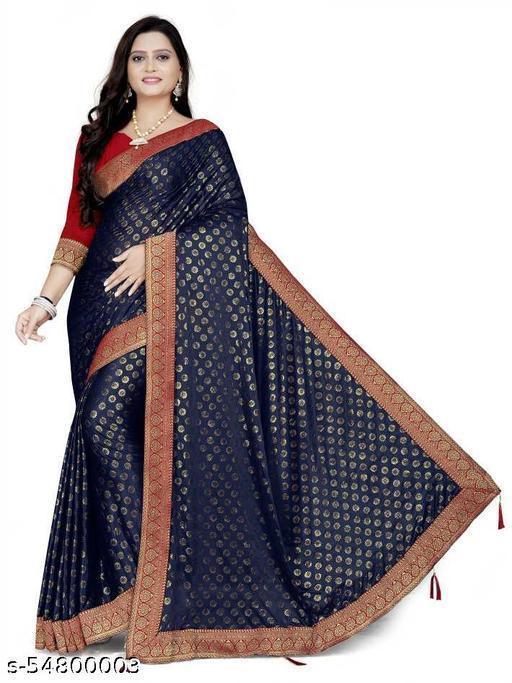 saree for women Malai Silk Zari Buti Lace Border latest design Sarees with bangalore silk Blouse for gift durga puja Wedding