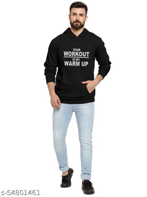 SLAYS Men's Woolen Hooded Sweatshirt