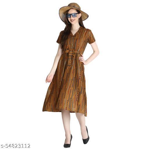 Latest Desinger  New Arrival Stylish Rayon Sulb dress