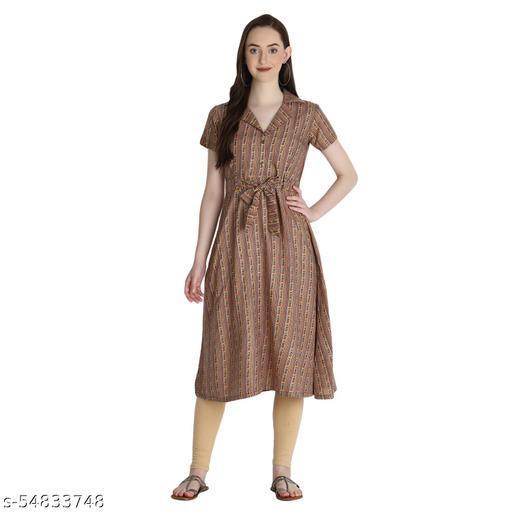 Latest Desinger  New Arrival Stylish Rayon Sulb dresses