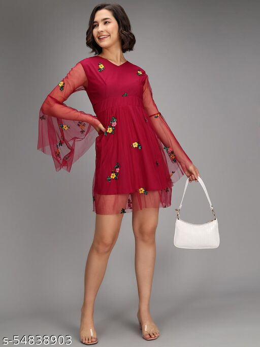 WOMEN INSTA DRESS
