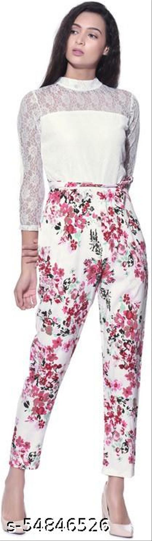 Aayu Women Maxi White Jumpsuits