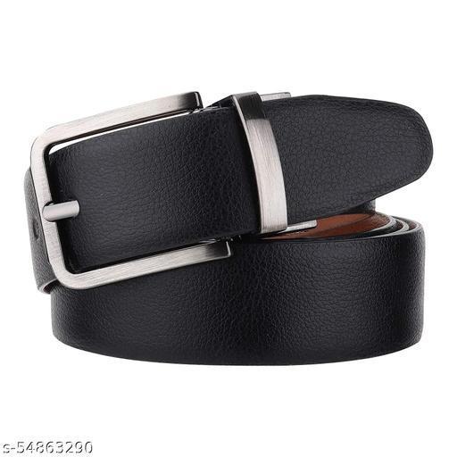 CLUB SPUNKY Belts for Men Reversible (BLACK/TAN)