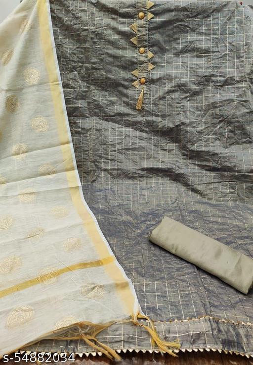 Graceful Salwar Suit & Dress Material CHANDERI CHOKDA
