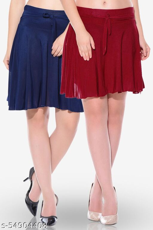 Dashy Club 2 Combos Poly Crepe Skirt