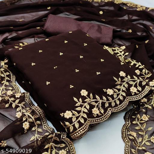 Keshvi Fabulous Georgette Salwar Suits and Dress Materials
