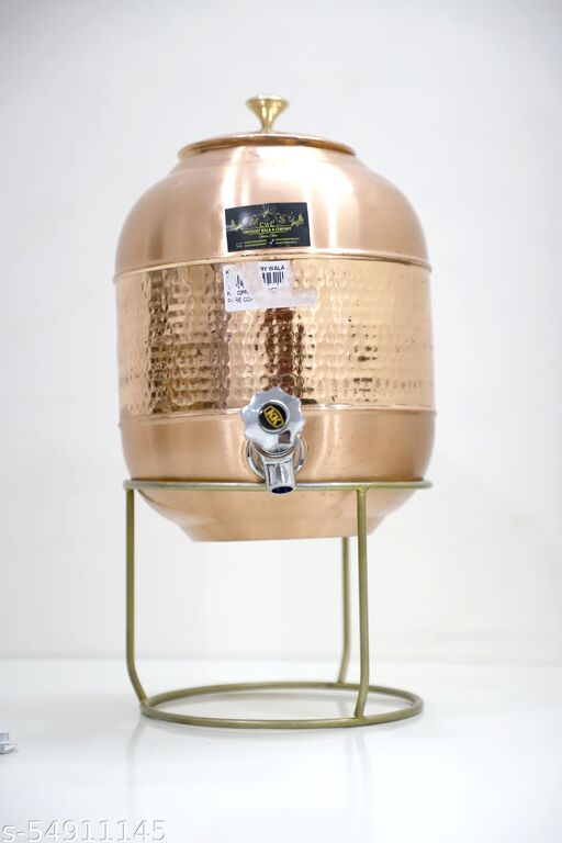 HOSPAC provide copper water jug include one stand .