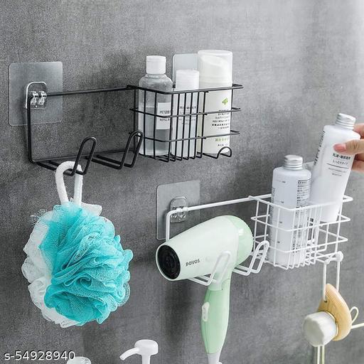 HOMEPRO Multipurpose Bathroom Shelf Wall Holder Storage Rack