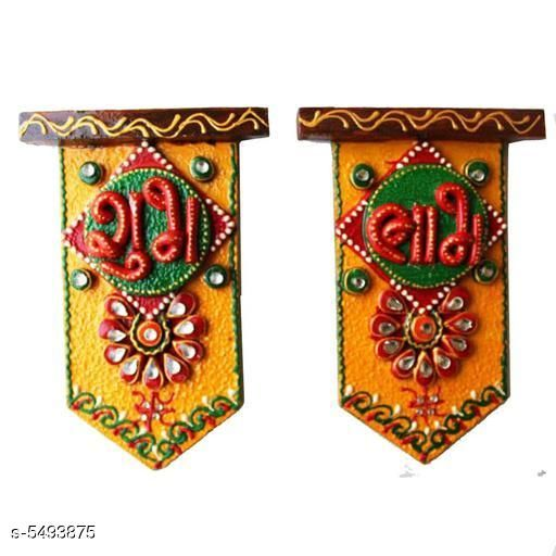 Decorative Wooden Shubh Labh
