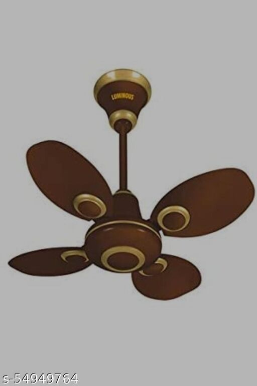 Luminous Petalaire 600mm Ceiling Fan (Brown)