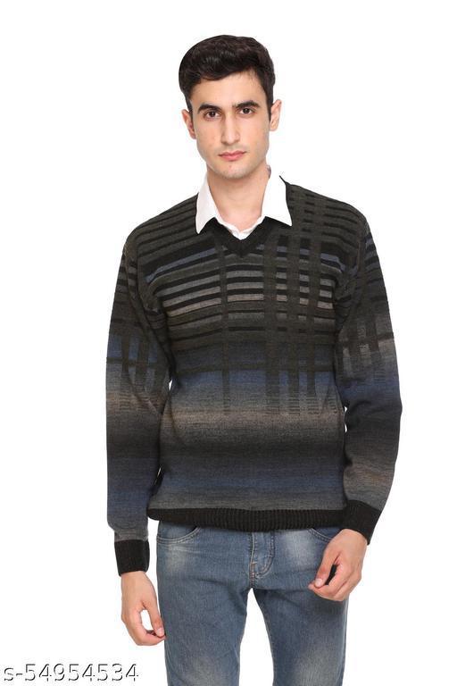 aarbee woollen full sleeve sweater for men