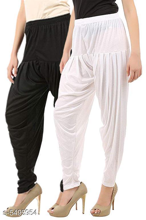Trendy Women Dhoti Patiala Pants Combo (Pack Of 2)