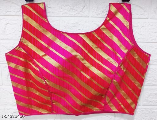 Zihana Creations New Readymade Sleeveless Princess Cut Blouse For Women Wear