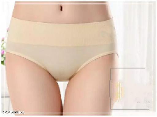 Piacere Women High Waist underwear Underpants Seamless Tummy Panties For Girls Premium Imported   Ladies Underwear Free Size: stretching 24 Inch- 34 Inch Briefs