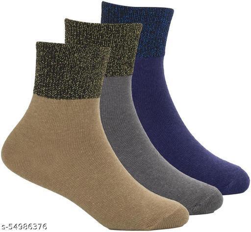 ThunderLook Girls Multicolor Socks 4 - 5 Years SK1363-1364-1366