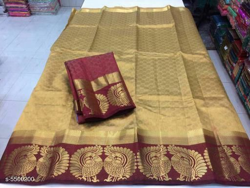 Attractive Nylon Silk Women's Saree