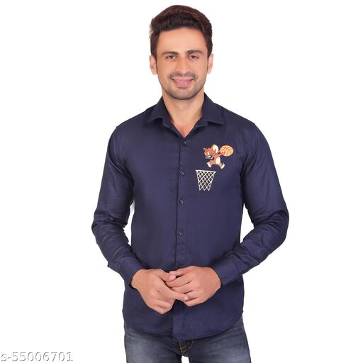 Men's Printed Shirt Party Or Casual Wear Full Sleeve