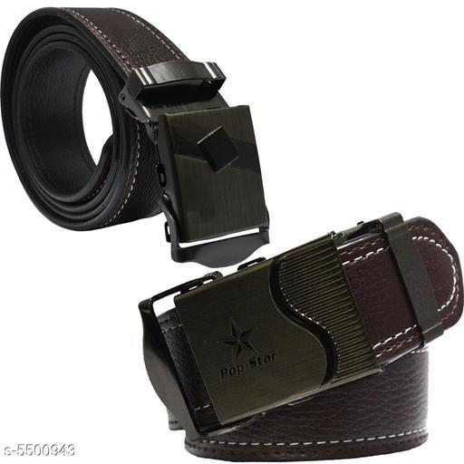 Trendy Men's Belts Combo