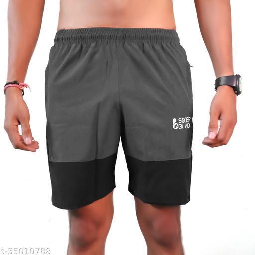 PHRUITERIA  Fashionable Unique Men  Casual Cotton Blend Solid Shorts For Boys/Men combo pack of 1