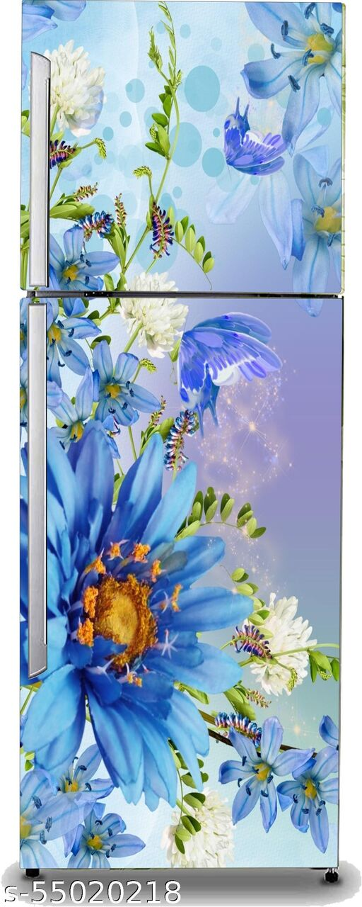 flower fridge stickers
