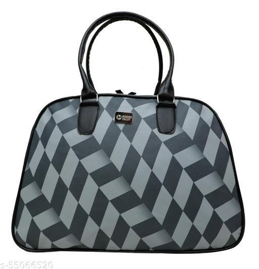 Makersvalley Duffel Bag 50L Water-Resistant Shoulder Weekender Overnight Bag for Women, Travel Gym Sports Light Weight Luggage Travel Bag - Blue