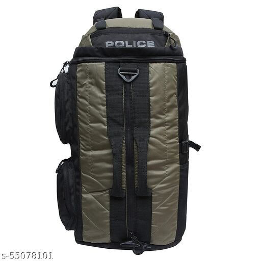 POLICE 35 Ltr Green Rucksack