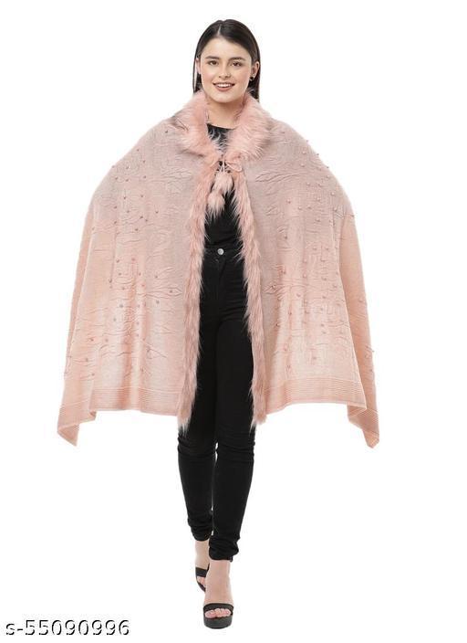 Lady Look Women's Designer Poncho/Winter Shrug