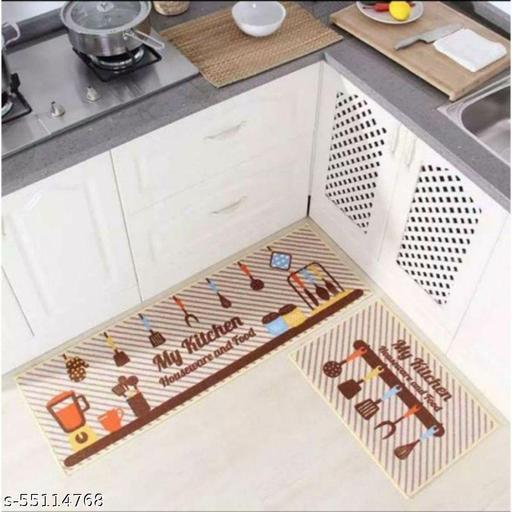 Babli Creations attractive kitchen mat