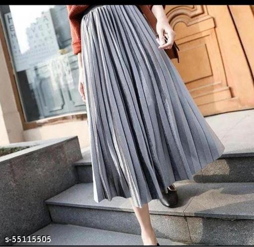 plated skirt