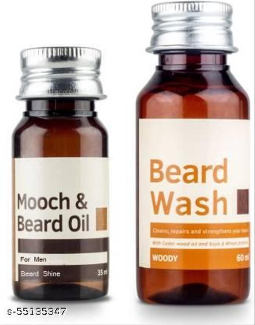 Beard Oil and Wash