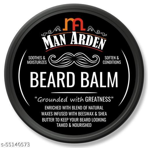 Man Arden Beard Balm - Soften and Moisturizes Beard with Beeswax and Shea Butter, 50gm beard wax