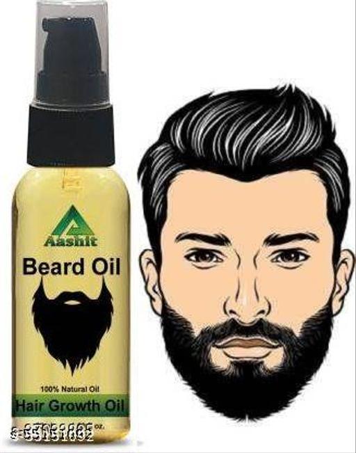 Aashit beard oil for man beard growth oil 50 ml