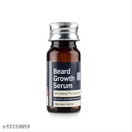 Ustraa Beard Oil Growth Serum | Growth and Nourishment | For Oily Skin | 35ml