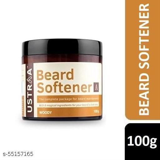 Ustraa Beard Softener For Beard Maintenance | Woody | 100g