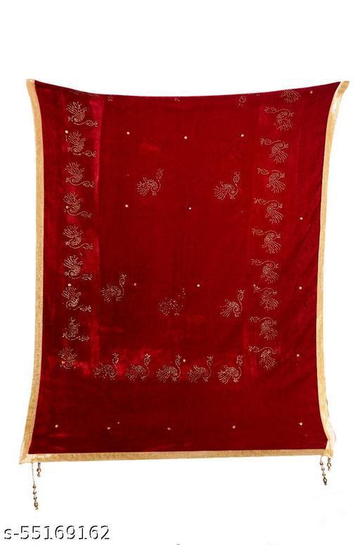Red Velet Shawl