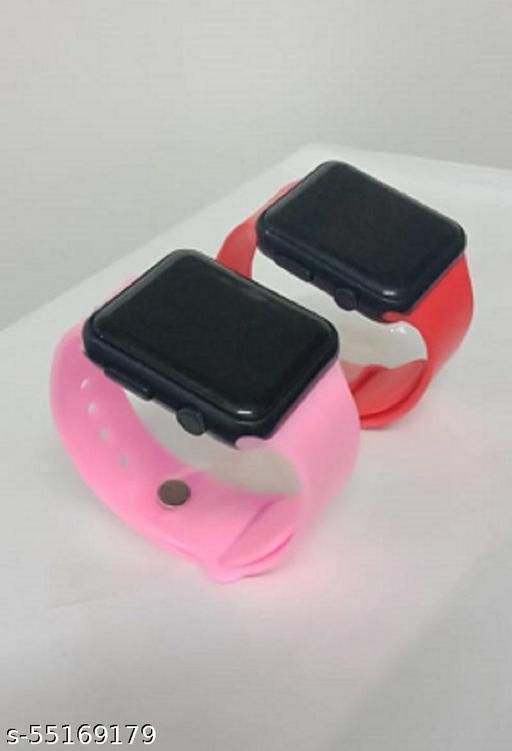 new stylich led watch combo
