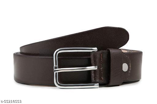 Ajanta Genuine Leather Belt For Men Original Formal, Branded/ Black and Brown